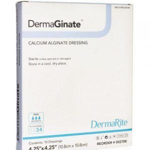 DermaGinate Calcium Alginate Wound Dressing - Medium