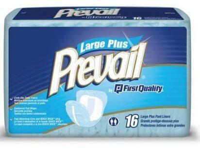 Prevail Pant Liners (Large) Overnight