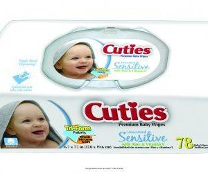 Cuties Baby Wipes for Sensitive Skin - Soft Pack - CR-16413/3