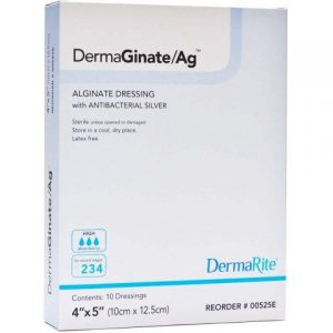DermaGinate AG Alginate Wound Dressing with Silver