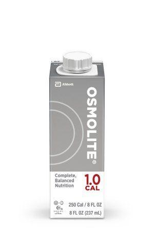 Osmolite 1.0 Cal 8oz. G-Tube Feeding Formula - Abbott Reclosable Container - 64633