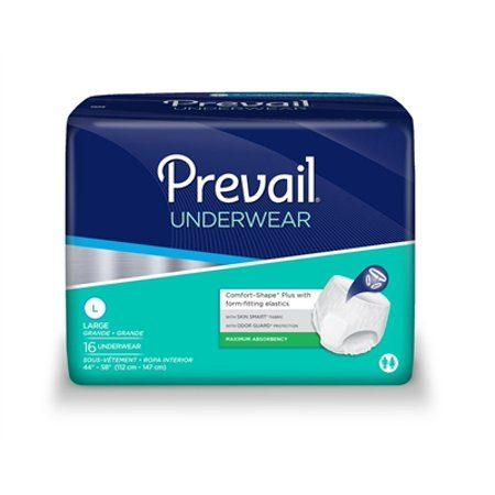 Prevail Super Plus Absorbent Protective Underwear Pullups Large