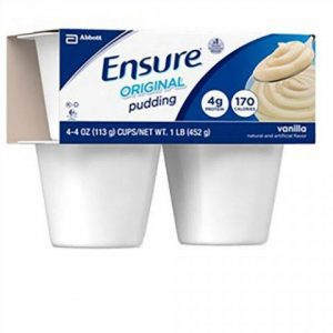 Ensure Pudding Vanilla 4oz Cup - Free Shipping